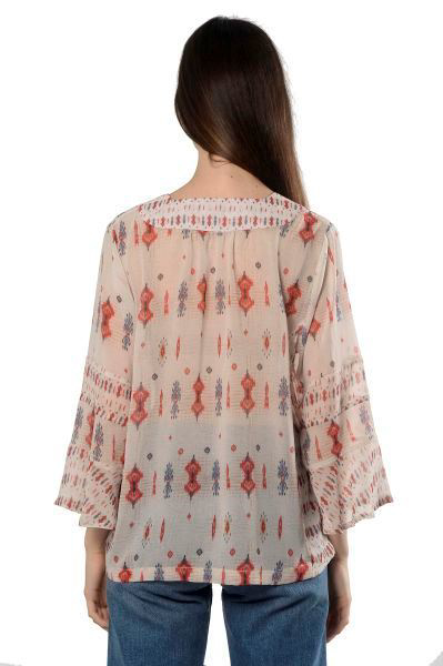 Picture of PRINTED 3/4 SLV TOP