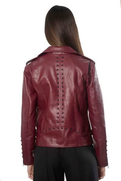 Picture of PU STUDDED MOTO JACKET