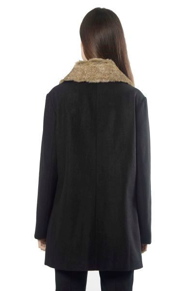 Picture of WOOL COAT W/ REMOVABLE FUR
