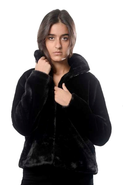 Picture of CHUBBY FAUX FUR COAT