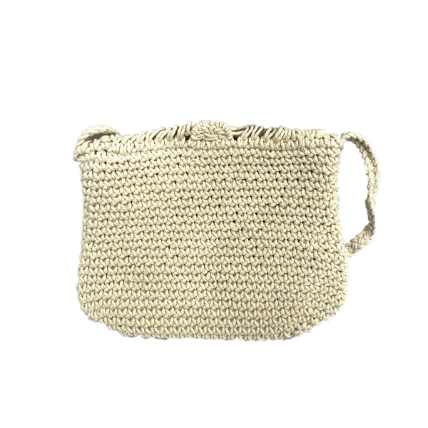 Picture of MACRAME CROSSBODY BAG WITH FRINGE