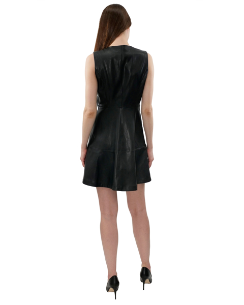 Picture of BUTTER PU ZIP UP DRESS