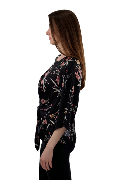 Picture of FLORAL PRINT WOVEN TOP