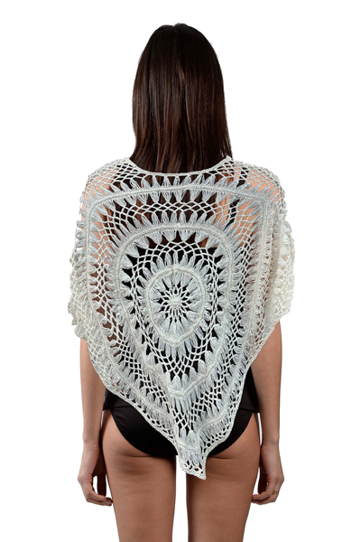 Picture of CROCHET PONCHO SWEATER