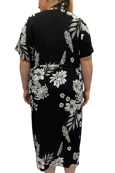 Picture of FRONT- TIE CAFTAN