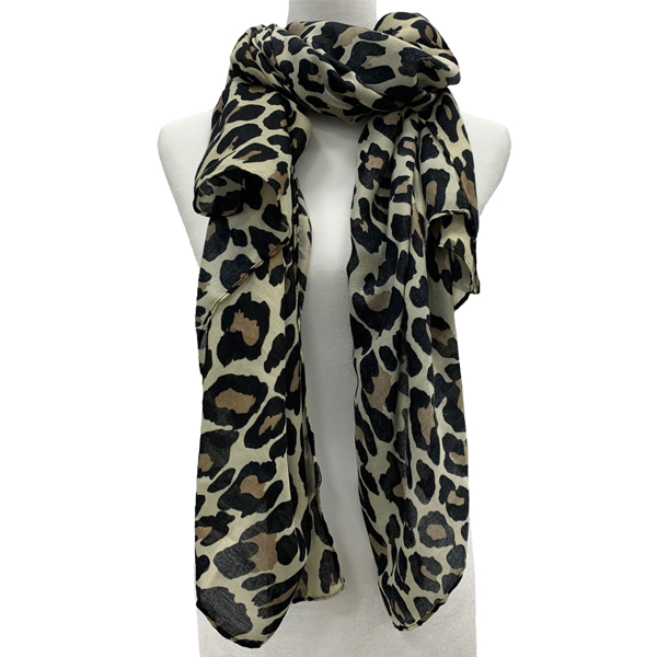 Picture of ANNA CAI LEOPARD SCARF